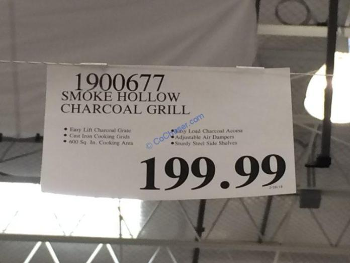 Costco-1900677-Smoke-Hollow-Charcoal-Grill-tag