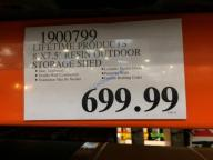 Costco-1900799-Lifetime-Products-Resin-Outdoor-Storage-Shed-tag
