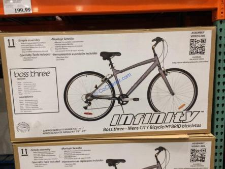 Costco-1280176-Infinity-Boss-Three-Men's-Hybrid-Bike2