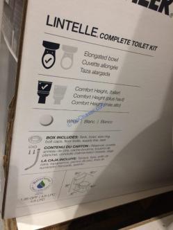 Kohler Lintelle 2pc Elongated Complete Toilet Costcochaser