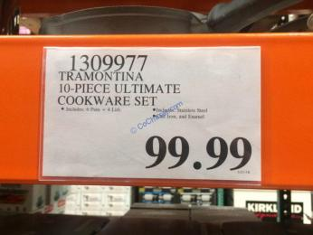 Costco-1309977-Tramontina-10-piece-Ultimate-Cookware-Set-tag