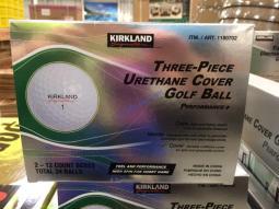Costco-1180702-Kirkland-Signature-3-piece-Urethane-Cover-Golf-Ball