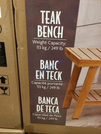 Costco-1049998-Teak-Shower-Bench-with-Storage-Shelf-part