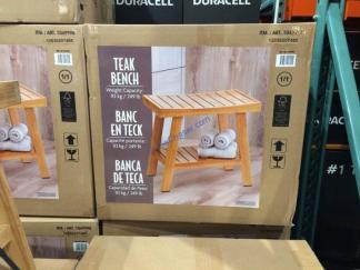 Costco-1049998-Teak-Shower-Bench-with-Storage-Shelf1
