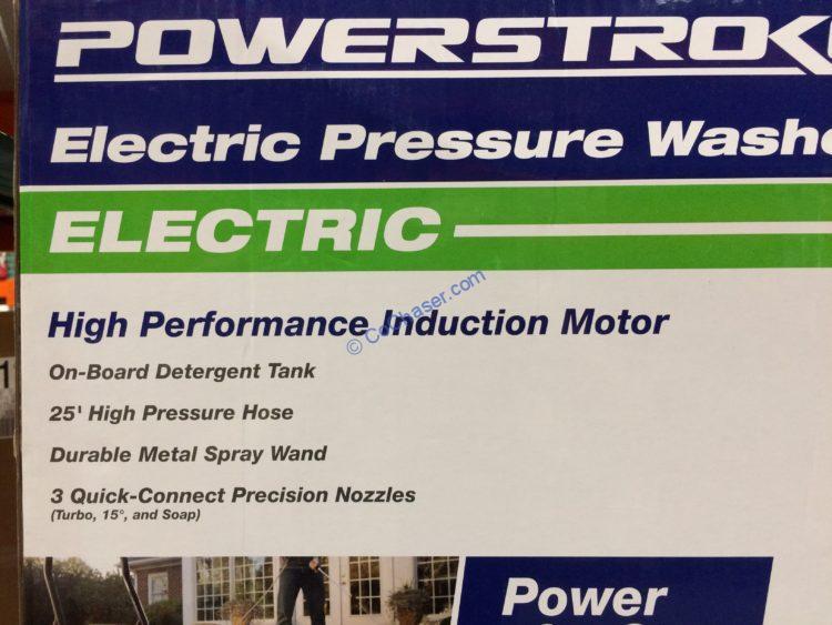 Powerstroke 2200 Psi Electric Pressure Washer Costcochaser