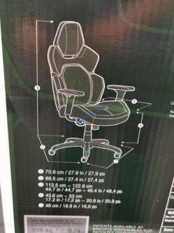 Dps 3d Insight Gaming Chair Costcochaser