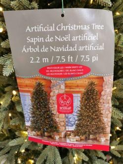Costco-2002011-7.5-Pre-Lit-LED-Christmas-Tree-Surebright-EZ-Connect-Color