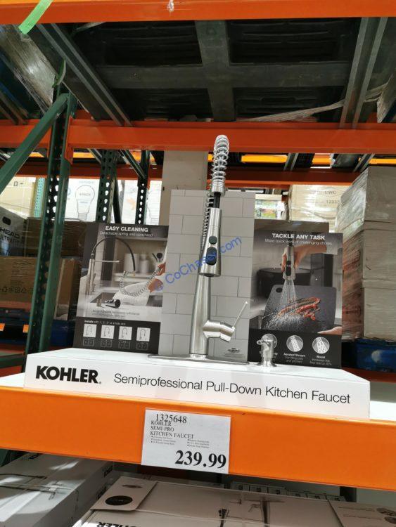 kohler semiprofessional kitchen faucet