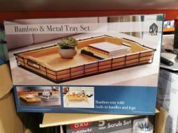 Costco-1338382-MESA-Bamboo-Metal-Serving-Tray-Set2