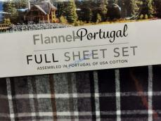 Flannel 4pc Sheet Set Full Queen And King Costcochaser