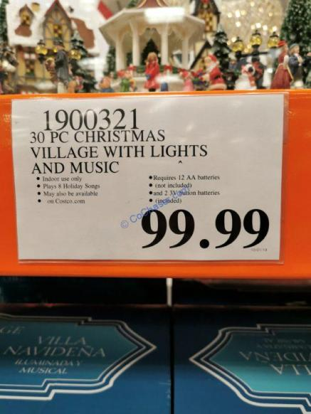 Costco-1900321-Christmas-Village-with-Lights-and-Music-tag