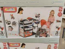 Costco-2097805-Twin-Doll-Play-Set-and-Double-Stroller1