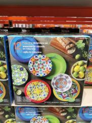 Costco-1338508-Turklish-Tile-Melamine-12Piece-Dinnerware-Set1