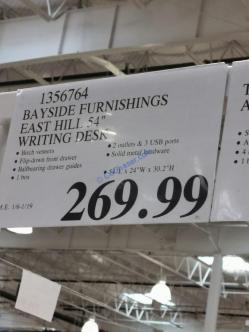 Costco-1356764-Bayside-Furnishings-East-Hill-54-Writing-Desk-tag