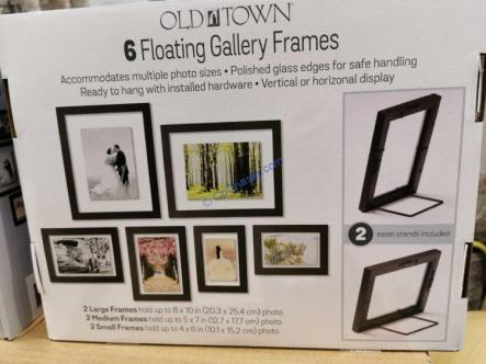 Costco-2237474-Old-Town-6PC-Floating-Picture-Frame-part