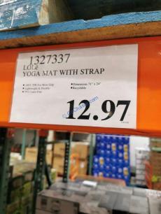Costco-1327337-LOLE-YOGA-Mat-with-Strap-tag
