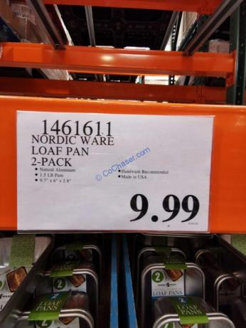 Costco-1461611-Nordic-Ware-Loaf-Pan-tag