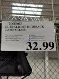 Costco-2000562-Cascade-Mountain-Tech-Ultralight-Highback-CAMP-Chair-tag