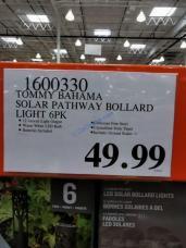 Costco-1600330-Tommy-Bahama-Solar-LED-Pathway-Bollard-Light-tag