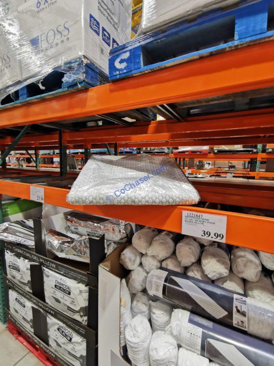 gel memory foam wedge pillow