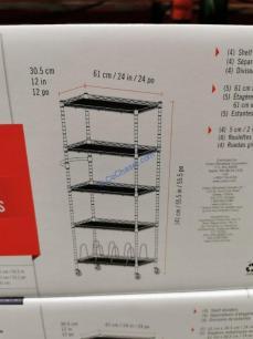 Costco-1510130- Trinity-5Tier24-Wide-Narrow-Rack-size