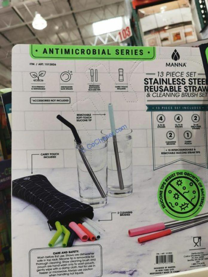 Costco-1512826-Manna-Antimicrobial-Stainless-Steel-Straw-Set4