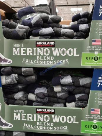 Costco-7771320-Kirkland Signature-Mens-Wool-Blend-Sock-all