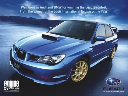 subaru 3 Guerra publicitaria entre Audi y BMW