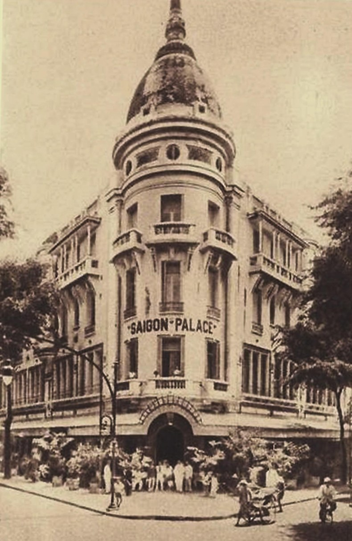 Đường Catinat - Saigon Palace
