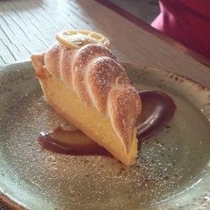 Rye lemon meringue pie