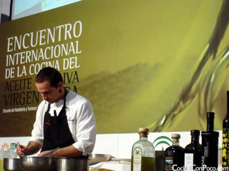 aceite oliva cocina encuentro Jaen AOVE