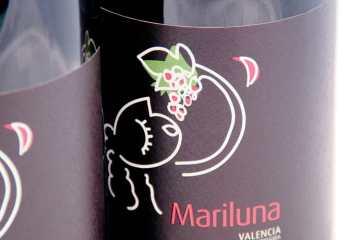 Mariluna vino tinto blanco Sierra Norte