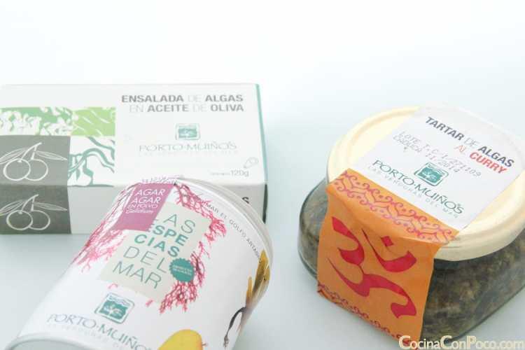 Algas comestibles online Portomuiños – El sabor del mar