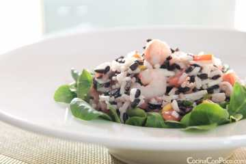 ensalada arroz bicolor