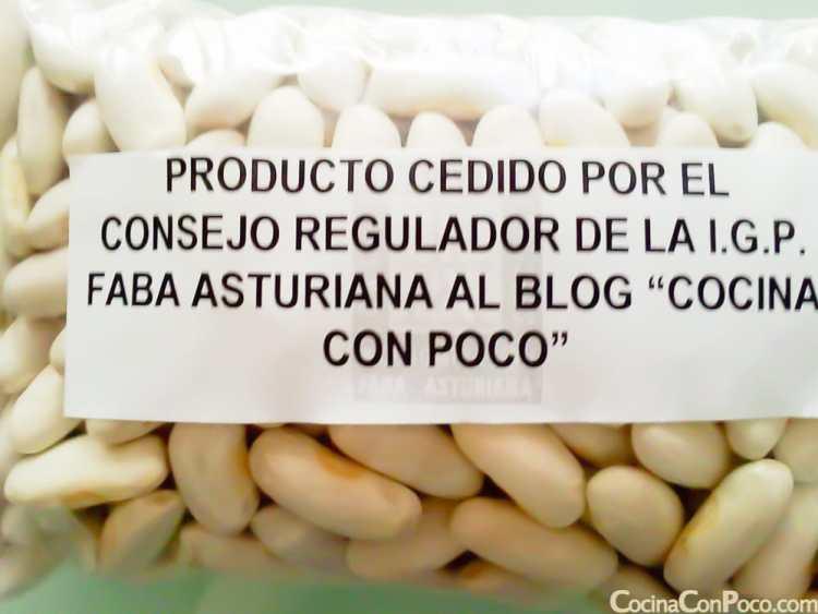 Faba asturiana receta