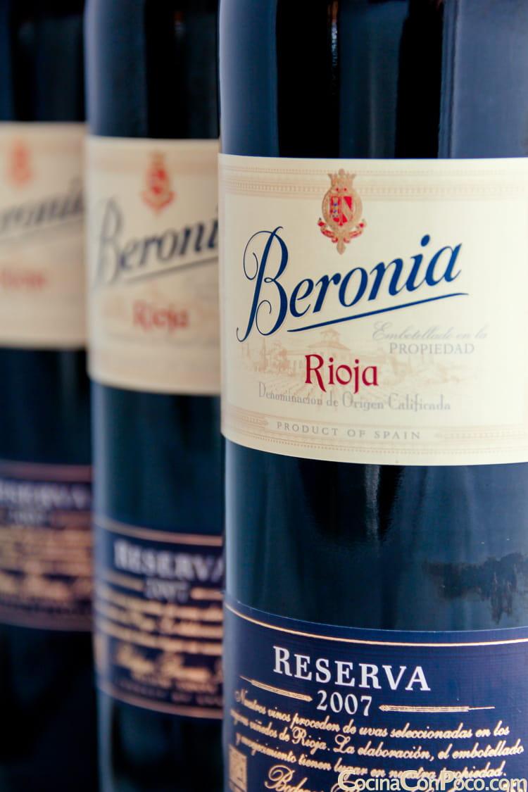 Beronia reserva Rioja