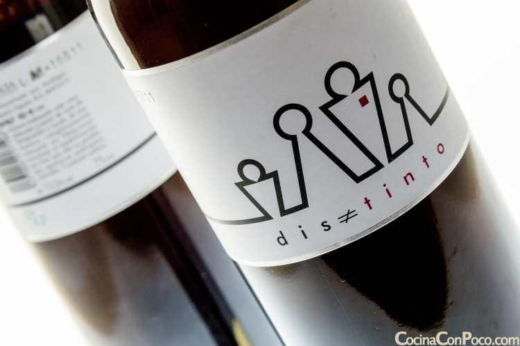 Distinto Vino tinto Bodegas Enguera DO Valencia