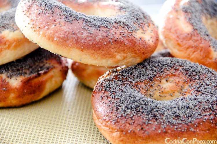 bagels sin gluten receta paso a paso