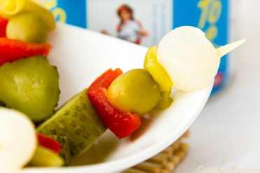 banderillas toreras aperitivo encurtido snacks