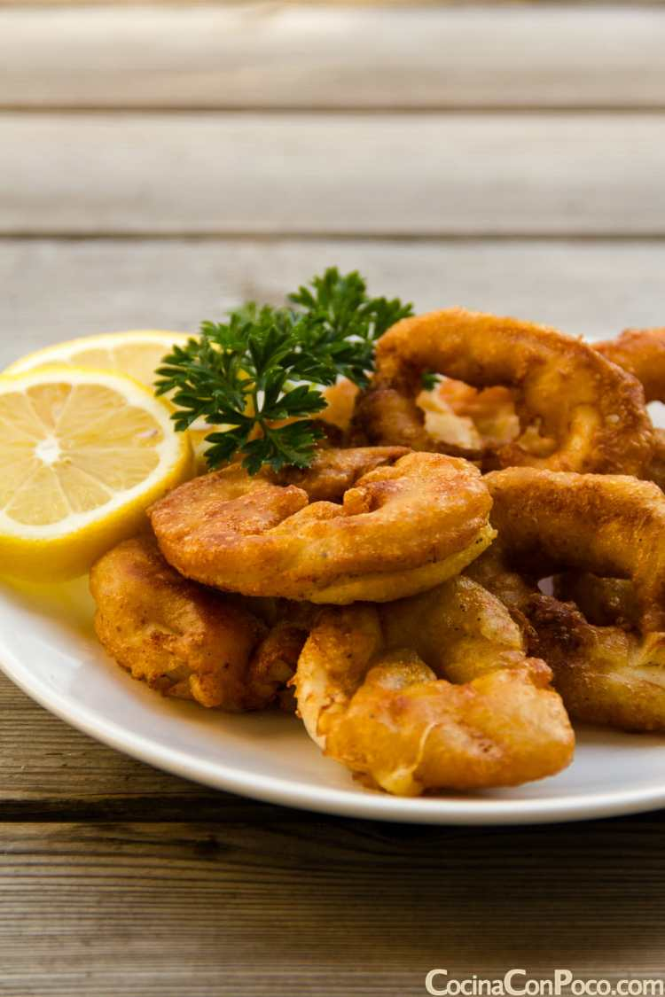 calamares a la romana receta original sin gluten
