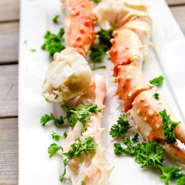 cangrejo real king crab receta noruega