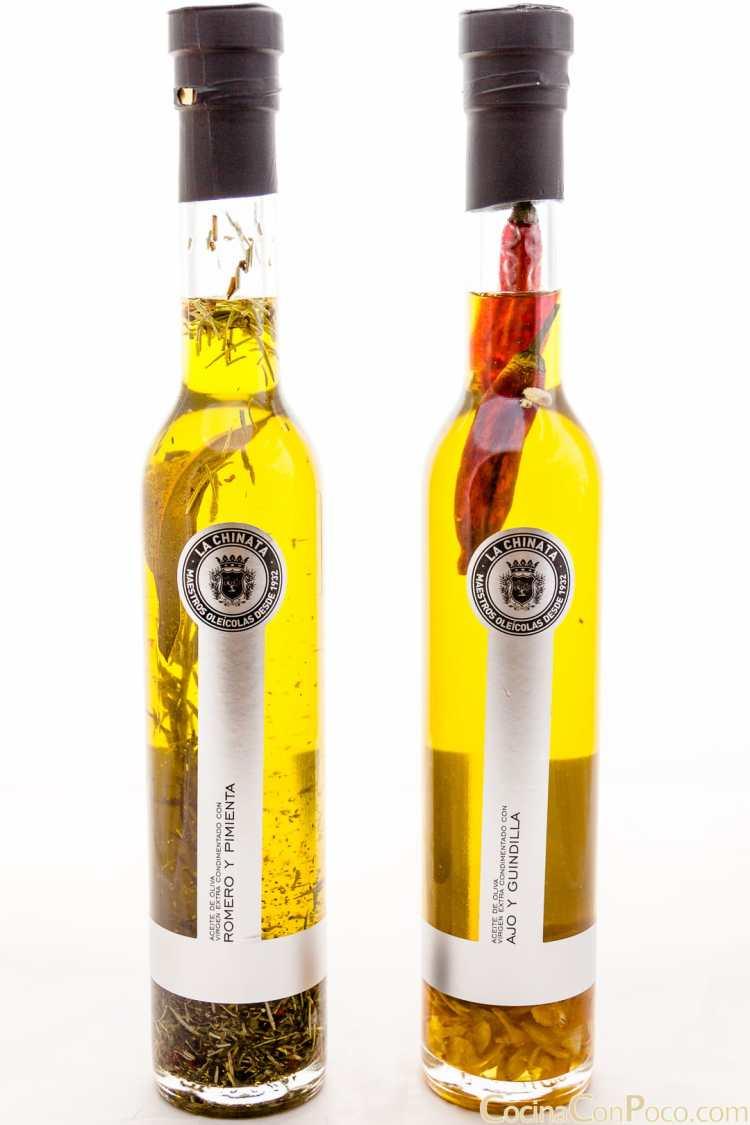 La Chinata aceite oliva sabores condimentados