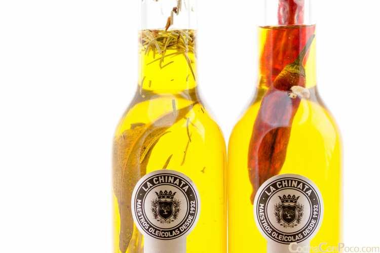 chinata aceite oliva sabores condimentados