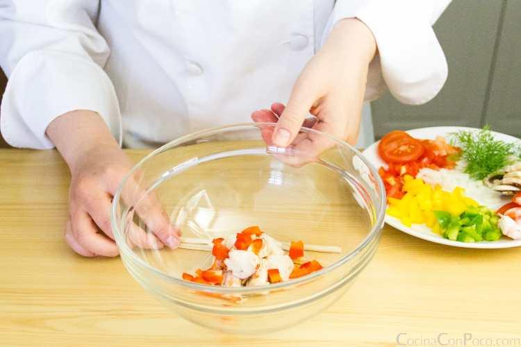 ensalada de bogavante receta paso a paso