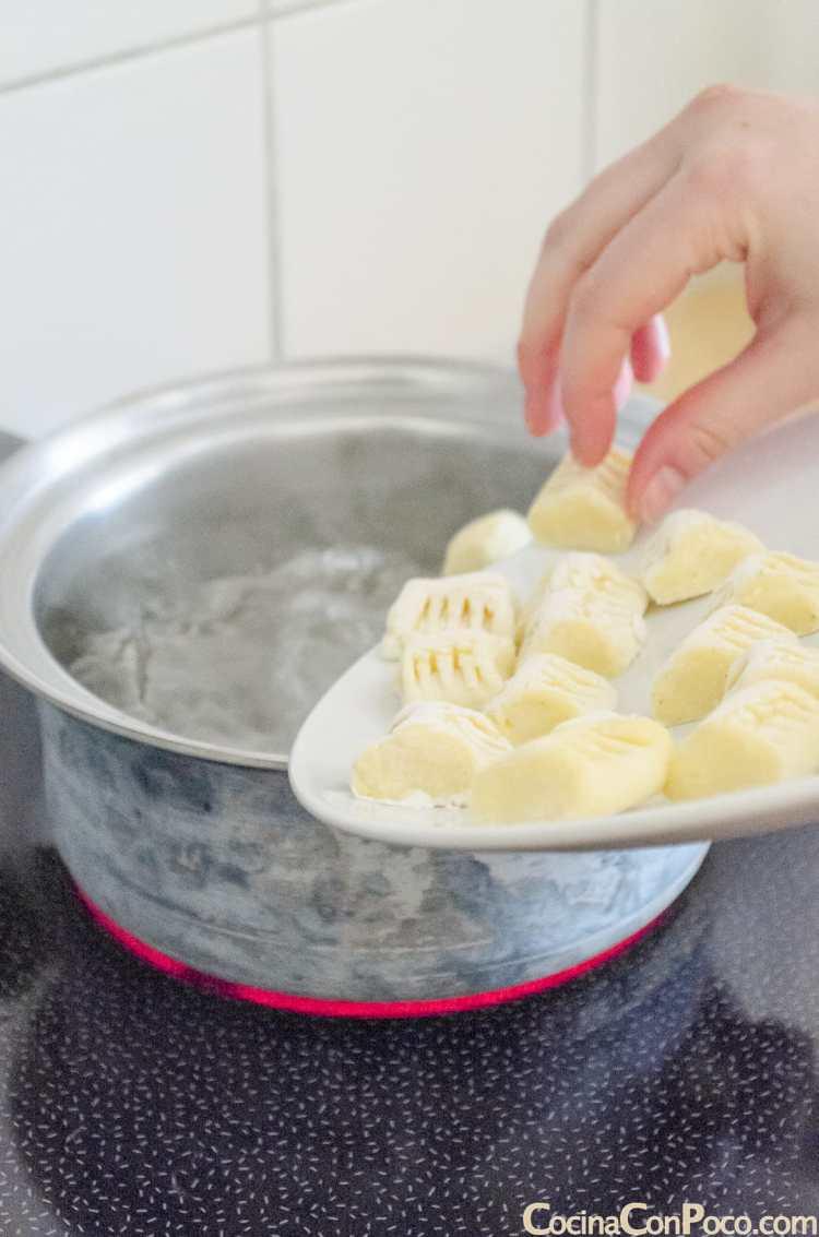 gnocchi ñoquis patata receta facil rapida paso a paso