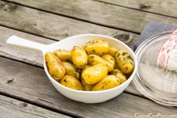 Guarnición de patatas para carnes