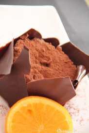 mousse de chocolate receta facil