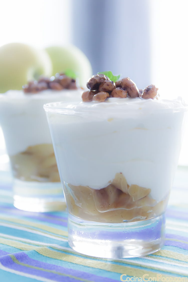 Mousse de yogur natural