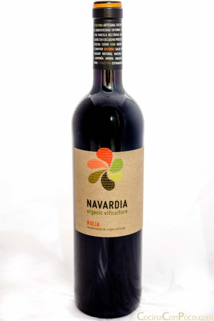 navardia rioja vino ecologico