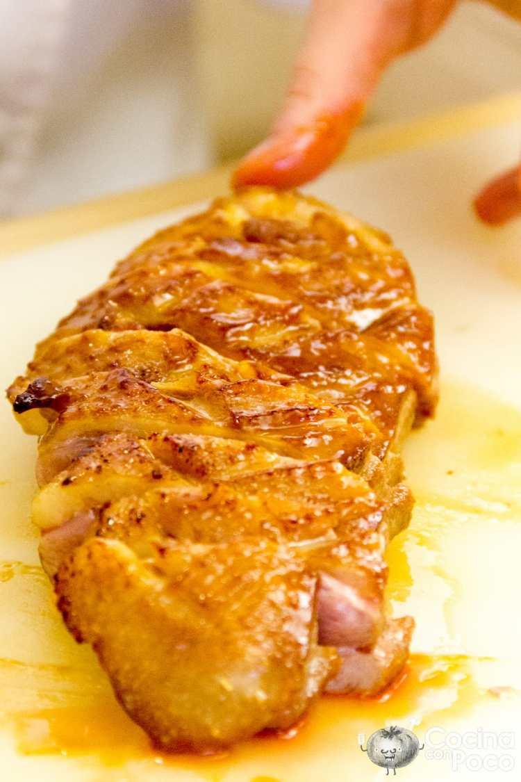 Pato a la naranja paso a paso cocina con poco for Pato a la naranja al horno